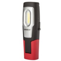 Rechargeable work lamp with laser pointer